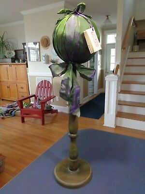 "Florita Nova, Inc ~ Decorative Hat Display ~ Millinery Stand ~ 24"" Tall"
