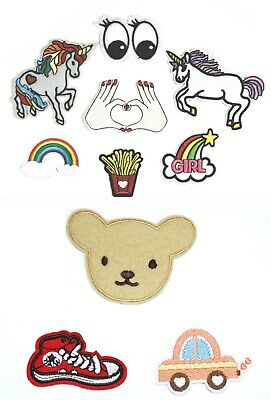 Embroidered Sew On or Iron On FUN Patches Badges - Clothing Appliques