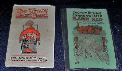 Sherwin Williams Vintage Advertising Booklets