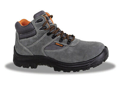 Scarpa antinfortunistica da lavoro Beta BASIC SCAMOSCIATE ALTE S1P GREY