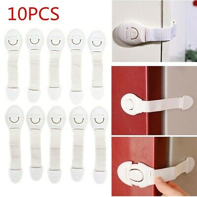 Toddler Baby Kid Child Safety Lock Proof Cabinet Drawer Fridge Pet Cupboard Door