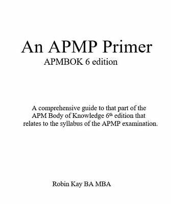 The APMP PRIMER-Passing  APMP - PMQ. PDF file. Direct from the Author.