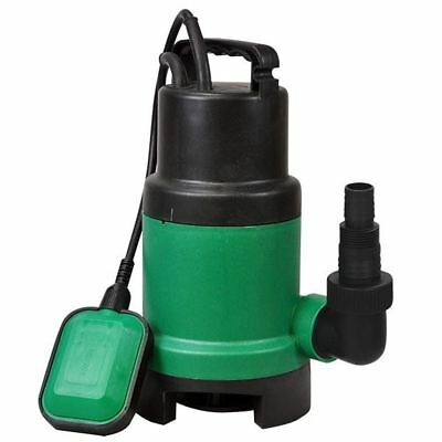 Green Submersible Electric Garden Pond Flood Clean Or Dirty Water Pump