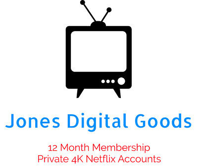 4K Private Netflix Account | 12 Month Warranty | INSTANT DELIVERY