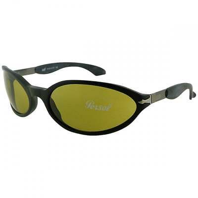 6604b29f4c Persol 2666 Mens Black Wrap Driver Sunglasses With Photochromic Lenses MSRP   248