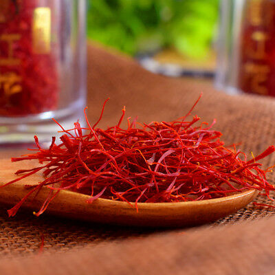 Tibet Dry Saffron Flower Natural Pure Spice Health Herbal Health Care KASUBHA