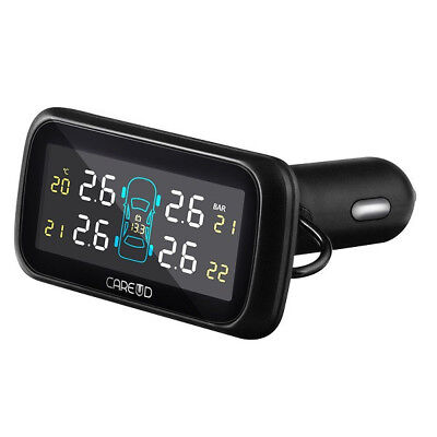 U903I Car TPMS Tire Pressure Monitoring System Cigarette Lighter Supply Power 4