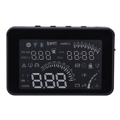 W03 4 inch Car HUD Head Up Display with OBD Interface LED