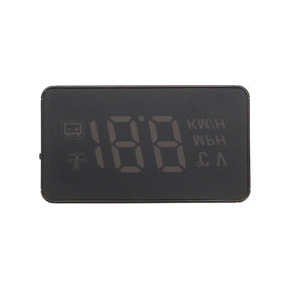 A100 OBD2 Vehicle HUD Rise Monitor OBD Driving Computer Speed Projector Head Up