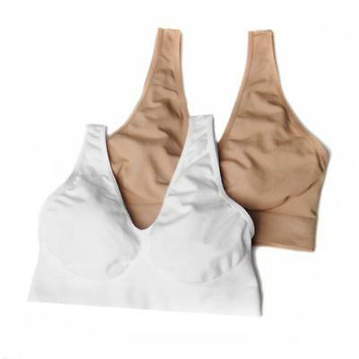 """576-265 Small Rhonda Shear /""""Ahh Bra/"""" 2-pack with Removable Pads in Black//Nude"""