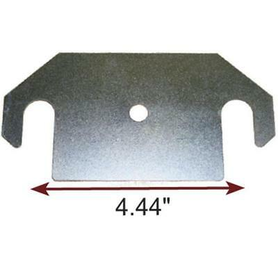 """Fits: 1/8"""" shim thickness. Freightliner torque arm shim for FAS II suspensions."""