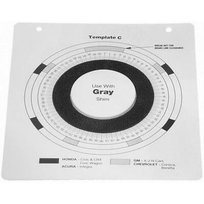 Fits: Indexing Plastic Templates. C - GM J, L, N and X Body and Honda (w/Gray Sh