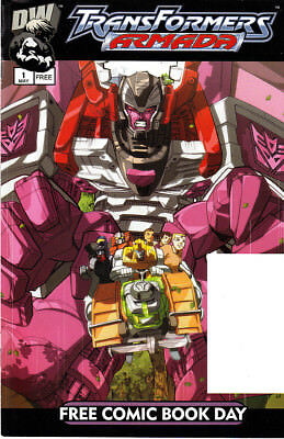 TRANSFORMERS ARMADA No. 1, FCBD-Edition, 2003, US-Comic