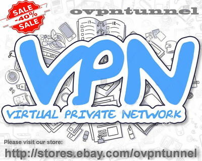 OpenVPN SERVICE ACCOUNT 1 Year   Fast Speed   Unlimited Data 1Gbps VPN !