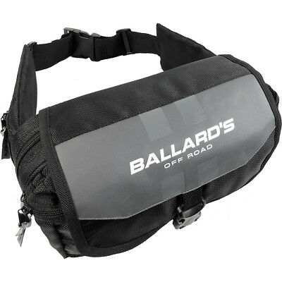 NEW Ballards Dirt Bike Enduro Black/Grey Bum Bag Off Road Trail Tool Pack