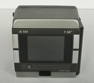 PHASE ONE H101 P30+ medium format digital back for Hasselblad H system 31MP