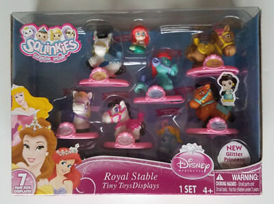 Squinkies Disney Royal Stable Tiny Toys Display Glitter Princess