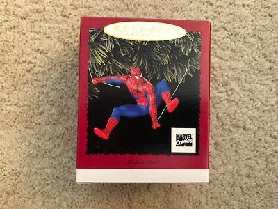 1996 Hallmark Christmas Ornament SPIDERMAN MIB