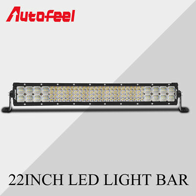22Inch 2688W 4-Row Led Work Light Bar Spot Flood Combo Off-road Truck SUV 20/24