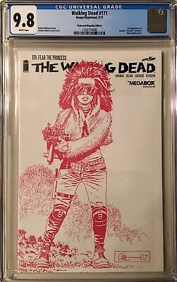 The Walking Dead #171 Skybound Megabox Edition CGC 9.8 1st Appearance Princess
