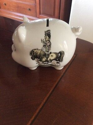 Thelwell The Pony -Piggy Bank-Vintage Horse