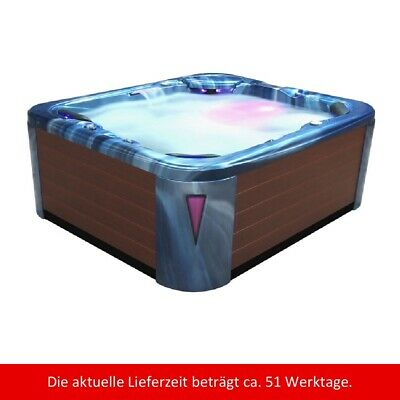 Whirlpool außen  IN591 Extreme Ocean Wave braun SPA Wellnes Outdoor