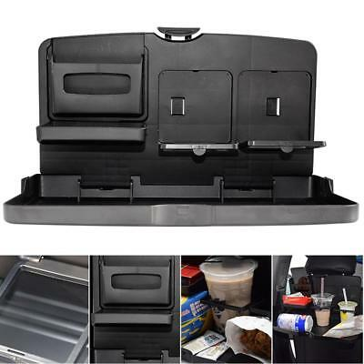 Car Dining Tray Front Seat Back Multi-functional Folding Drink Table Holder AU