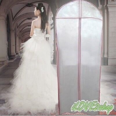 Breathable Garment Bridal Gown Wedding Cover Storage Bag Dress Dustproof