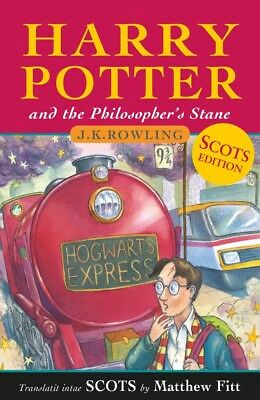 Harry Potter and the Philosopher's Stane Scots Language Edition New Release