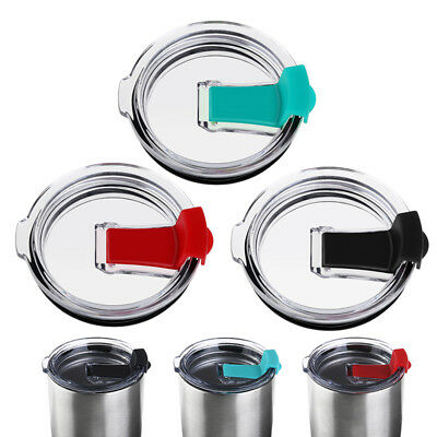 3x 30 oz Splash Spill Proof Lid for YETI Rambler RTIC Tumbler Cup Replacement AU