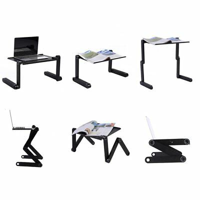 Adjustable Multi-function Ergonomic Mobile Laptop Table Stand Bed PC Tray GD