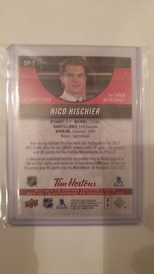 first pick 2017 redemption tim hortons Nico Hischier