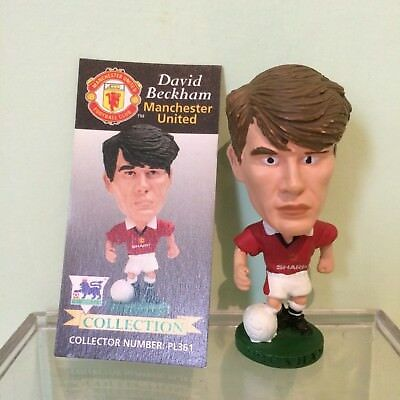 Manchester United Corinthian 'Big Heads' Football Figures with Cards 1995-1999