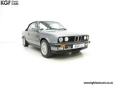 A Rare BMW E30 325i Motorsport Edition, Huge History File and 47,836 Miles