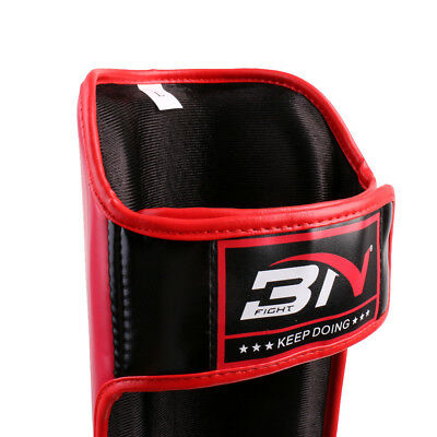 Shin Spann Pads MMA Bein Fuß Guards Muay Thai Kick Box Guard