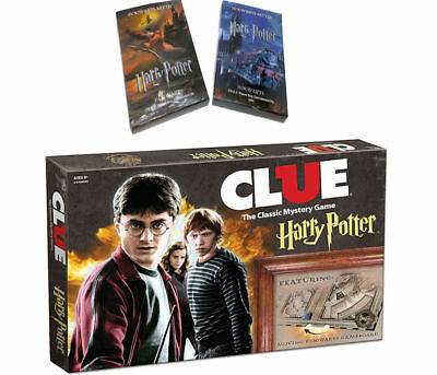 Clue Harry Potter  The Classic Mystery Board Game USAopoly +2 Bonus Cards