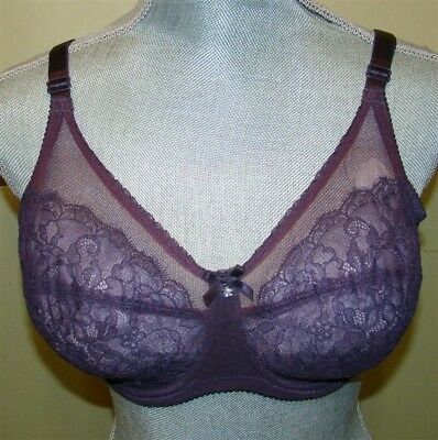 NWT WACOAL 851186 RETRO CHIC CHANTILLY LACE UNDERWIRE BRA 34A