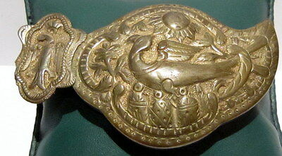 Amazing Antique Billon Buckle With Magnificent Decoration # 15C