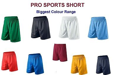 Mens Sports Shorts Running Gym Breathable Fitness PE XS - XXL