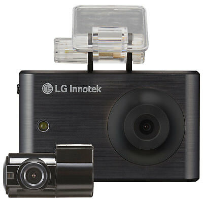 "LG Innotek 3.5""720p Touchscreen Dashcam with Rear Camera -RNEK-MN31B-Black"