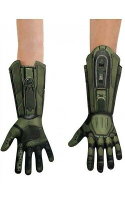 Licensed Master Chief Halo Deluxe Adult Gloves Halloween Costume Accessory