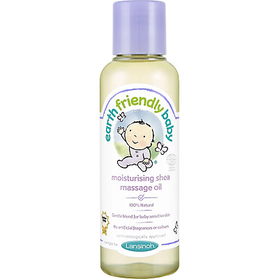 Earth Friendly Baby Moisturising Shea Massage Oil 125ml