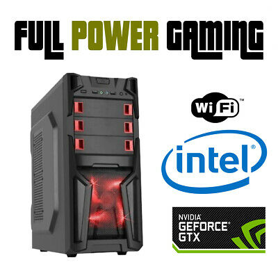 intel i5 VR ready Computer Custom Budget Gaming Desktop PC PLAY ALL NEW GAMES ++