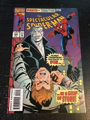 Spectacular Spider-Man#205 Incredible Condition 9.2(1993) Tombstone,Buscema Art!