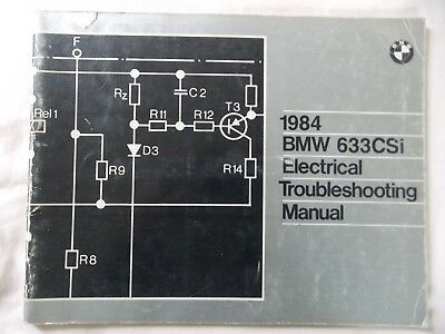 1984 BMW 633CSI Owners Electrical Troubleshooting Service ... Bmw Csi Wiring Diagram on bmw 645 csi, bmw 3.0 csi, bmw 850 csi, 1982 bmw csi, bmw 8 series csi, bmw 325 csi, bmw 630 csi, bmw 628 csi, bmw m635 csi, bmw 635 csi, bmw 840 csi, 1976 bmw csi, bmw 633 cs,