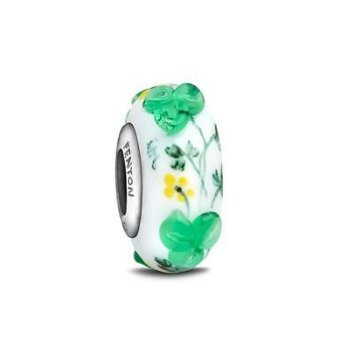 """""""Celtic Charm"""" Hand Decorated Glass Bead"""
