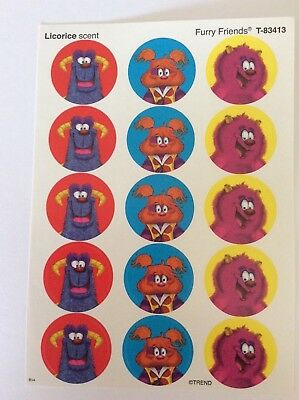 Monster  Scratch and Sniff Stickers - TEACHERS REWARD