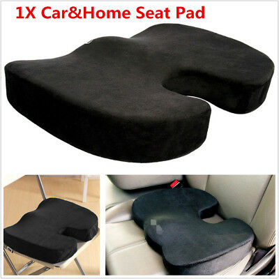 Black Car Seat Cushion Protector Sit Cover Mat Pad Protect Lower Back Spinal