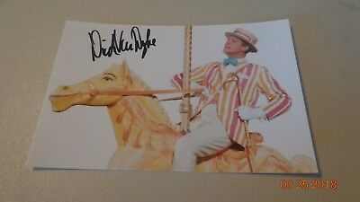 Dick Van Dyke Signed Picture Autographed With COA Mary Poppins Walt Disney's