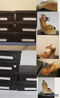 Womens shoes. Sold as lot. Betani Tan Wedge. Multiple sizes